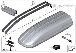 porta mini auto caixa porta bagagens de tejadilho mini mini mini r56 lci cooper