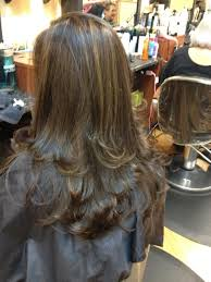 foil highlights for brown hair foil highlights total image hair salon