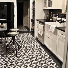 7 Black And White Kitchen by Merola Tile Twenties Vertex 7 3 4 In X 7 3 4 In Ceramic Floor