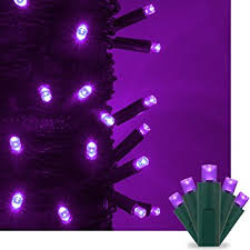 outdoor christmas lights decorations purple led christmas mini string light set 50 5mm