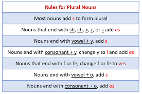 singular nouns and plural nouns with examples u0026 videos