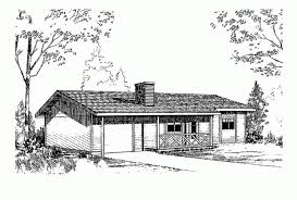 two bedroom ranch house plans eplans ranch house plan two bedroom ranch 816 square and