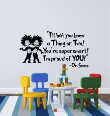 i u0027ll bet you know a thing or two dr seuss wall decal dr
