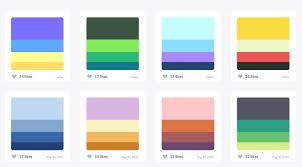 color pattern generator the ultimate list of online color palette generators for web design