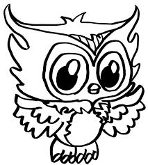cute owl coloring pages getcoloringpages