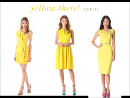 yellow dresses for weddings yellow summer dresses for weddings dresses trend