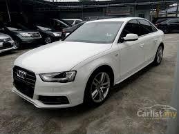 white audi sedan audi a4 2012 tfsi s line 1 8 in selangor automatic sedan white for