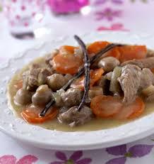 cuisiner la blanquette de veau blanquette de veau à la vanille les meilleures recettes de cuisine