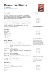 Volunteer Resume Samples by Teacher U0027s Assistant Resume Samples Visualcv Resume Samples Database