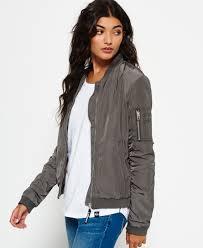 light bomber jacket womens superdry carrie bomber jacket women s jackets coats