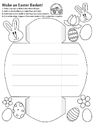 easter baskets to make make an easter basket coloring page school learning easter