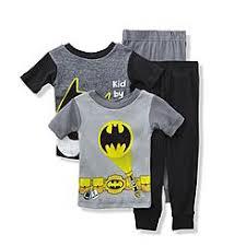 batman toddler boys batman pajama set with removable cape