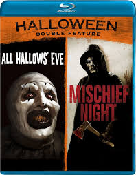 halloween double feature blu ray all hallows u0027 eve mischief night