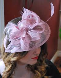 tea party hats pink fascinator hat womens tea party hat