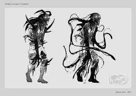sketches dark monsters by whakangame on deviantart