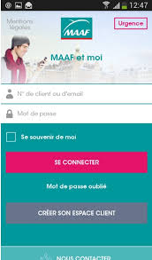 Maaf Assurances Si Et Moi La Nouvelle Application Mobile De Maaf