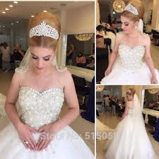 discount crystal wedding dresses 2016 formal bridal gowns beading