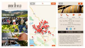 Paso Robles Map A New App For Planning A Trip To Paso Robles Wine Country La Times