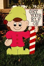 Outdoor Wooden Christmas Yard Decorations by Christmas Wooden Yard Decorations