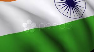Indian Flag Gif Free Download Indian Flag Flying In Wind Stock Video 339310 Pond5