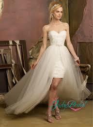 short wedding dress with detachable train all women dresses