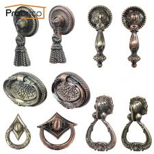 probrico vintage furniture antique drawer knob zinc alloy kitchen