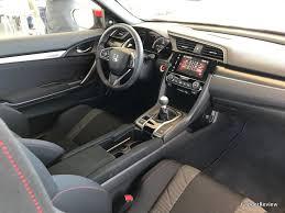 Honda Civic Si Interior Honda Civic Si 2017 Review Adaptive Suspension At 23 900