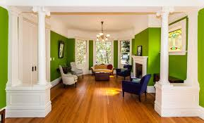 francisco green paint colors living room victorian with baseboards