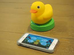 playing around with a smart rubber duck techcrunch