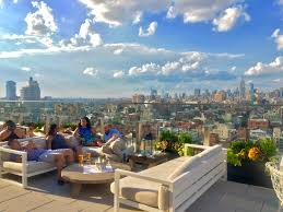 Roof Top Bars In Nyc Top 5 New Nyc Rooftop Bars Gourmadela