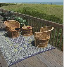 Veranda Living Outdoor Rugs Alluring Qvc Outdoor Rugs Veranda Living 5x7 Reversible Scroll