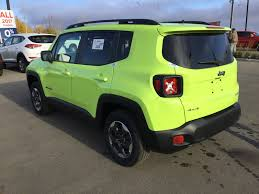 jeep yellow 2017 new 2017 jeep renegade 4x4 sport power options air conditioning