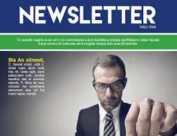 25 free impressive business newsletter templates for download