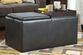 ottoman with tray and storage canada tag ottoman w storage