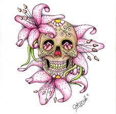 sugar skull by azul80 deviantart com on deviantart the as