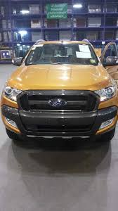 ford ranger 2015 2015 ford ranger wildtrack facelift reveals itself on the road
