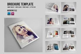 photography lookbook 16 pages indesign photoshop and element