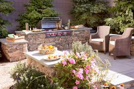 Outdoor Patio Grill Island Outdoor Barbecue Island Houzz