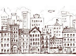 city sketch stock vector art 486549077 istock