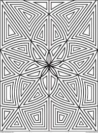 shapes coloring page coloring pages designs to print and color geometrip free