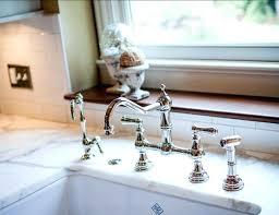 Bridge Faucet For Kitchen Bridge Faucet With Sprayer More Images Kitchen Bridge Faucet With