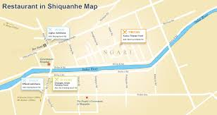 Map Of Indus River Maps Of Nagri And Prefecture Shiquanhe Restaurants Road