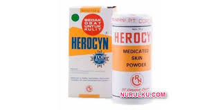Bedak Gatal bedak herocyn bedak gatal yang bagus kegunaan cara pemakaian