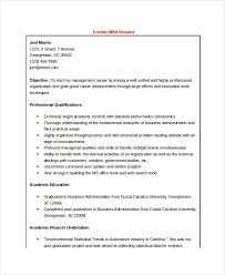 Sample Resume For Mba Freshers by Mba Resumes Download Mba Resume Sample Resume Sample For Mba