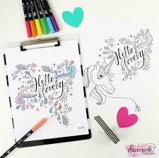 hello lovely coloring pages dawn nicole designs