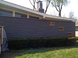 painting mid century modern home exterior paint colors bar shed