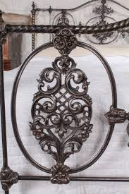 exquisite detail early victorian iron and brass 5ft king size