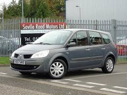 renault scenic 2005 7 seater used renault grand scenic 1 9 for sale motors co uk