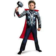 halloween costumes for kids 10 12 thor muscle child dress up costume walmart com
