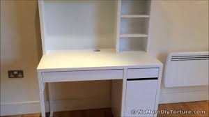 Ikea White Desk With Hutch Study Desk Ikea Micke Wrokstation
